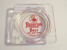 Vintage BAVARIAN BEER Mount Carbon Brewery POTTSVILLE  Advertising Ashtray Sign