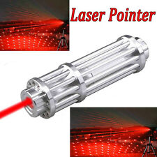 High Power  Strong Red Beam Laser Cannon Pointer Pen Torch Flashlight