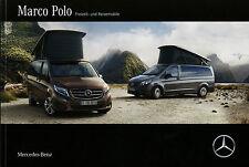 Prospekt Mercedes Marco Polo Reisemobil 22.1.15 Broschüre Wohnmobil 2015 Auto