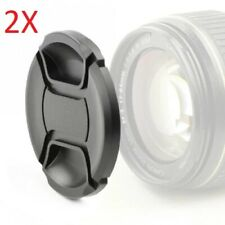 2 x 72mm Front Lens Snap-On Cap Cover for Canon Nikon Sony
