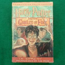 "Harry Potter ""Goblet Of Fire"" Audiobook 12 Cassettes Narrator Jim Dale - NEW"