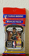 2020-21 Panini NBA PRIZM Cello (15 Cards Per Fat Pack) Basketball Cards 2021 NEW