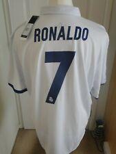 ** ** RONALDO Real Madrid Home Camicia 2016-17 NUOVO con etichetta XX Large distintivi Cardiff