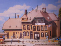 Faller H0 Bahnhof Rosenstein Milfort Vathorst Candeleda Bausatz NEU