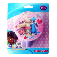 Disney Doc McStuffins Lambie Hallie Stuffy We All Care Together Night Light NW