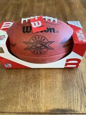 SUPER BOWL XX 20 Authentic Wilson NFL Game Football - OFFICIAL GAME BALL