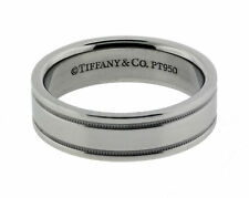 Tiffany & Co. Platinum Fine Ring without Stones