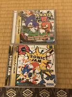 Sega Saturn Sonic R & Sonic Jam SS Japan Game both tested