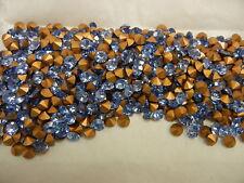 360 Swarovski chaton rhinestones,24ss Light Sapphire / Foiled #1100