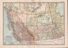British Columbia Antique North America Maps & Atlases