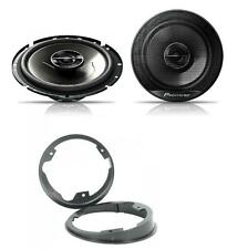 "Ford Transit Custom 2012 17cm 6.5/"" soportes de altavoz de Puerta Trasera Coche Adaptador Anillos"