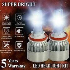 H11 H8 H9 4965W 744750LM LED Headlight Hi/Low Beam Bulb 6000K Fog Light Sets