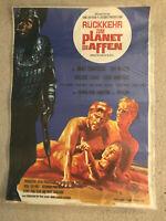 James Franciscus, Rückkehr zum Planet der Affen - Original Filmplakat A1