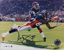 Ashley Lelie Denver Broncos Hand Signed Autographed 8x10 Photo W/COA