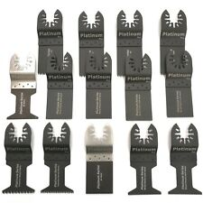 14 Pc Oscillating Multi Tool Saw Blade For Fein Multimaster BOSCH Dremel Makita