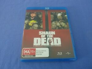 Shaun Of The Dead Blu-ray Simon Pegg Nick Frost Free Postage