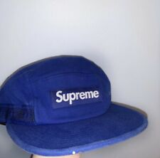 SUPREME SIDE TAPE CAMP CAP ROYAL BLUE