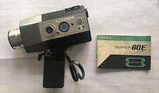 Yashica Super 60E Electronic Super 8 Video Camera-W/ Original Case (not tested)