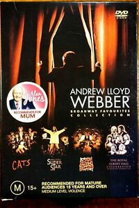 Andrew LLoyd Webber - Brosdway Favourites Collection  - DVD, As New
