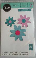 Sizzix Thinlits Floral Dulce 4 Die establecidas por Craft asilo 660803