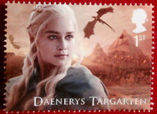GAME OF THRONES - Daenerys Targaryen FIRST CLASS ROYAL MAIL STAMP - MINT