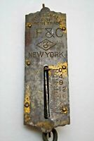 LF & C #3 Scale Small 25lbs Spring Scale Mercantile Weight & Measures Vintage NY