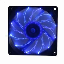 Ultra-silence 92mm Blue LED Fan 12V 3Pin DC 80CFM PC Computer Case Cooling Fan