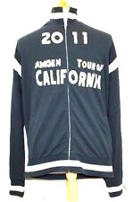Amgen Tour of California Varsity Baseball Jacket Gear Zip Perform Road R3 XL