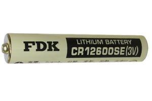 FDK Sanyo CR12600SE 3 Volt Laser Lithium 2N Battery