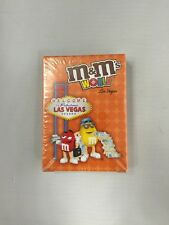 M & M World Las Vegas Nevada, Playing Cards, New In Original Packaging, USAopoly