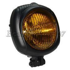Retro Old School Head Light Lamp Headlight For Harley Bobber Chopper XL 883 1200