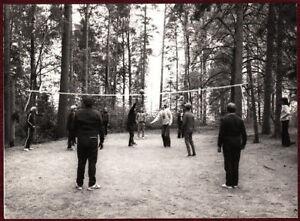 1970s Original Press Photo Henrioud Volleyball Finland