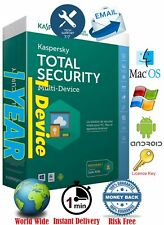 Antivirus Kaspersky Total Security -1Dev/1Year - Instant @mail delivery - global