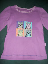Baby Girls Size 0 Pumpkin Patch Graphic Print Top for Age 6-12 Mths