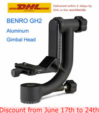 Benro GH2 Gimbal Head for tripod Aluminum Gimbal Head with PL100 Plate