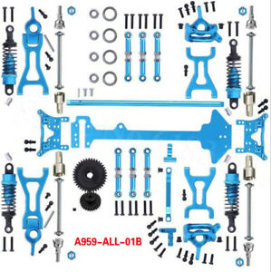 Upgrade Metal Parts Kit Full Set For 1/18 WLtoys A959-B A969-B A979-B K929-B