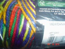 3 Skeins of Red Heart Super Saver Worsted Weight Yarn Mexicana  #0950