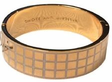 Kate Spade Smoke and Mirrors Idiom Bangle Bracelet NWT Golden Window Pane Beauty