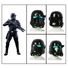 XCOSER Rogue One Death Troopers Halloween Helmet with LED Light Cosplay Mask Men
