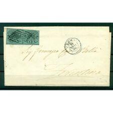 Etats Pontificaux 1852/64 - Y & T. n. 2 - Armoiries 1 baj. sur lettre