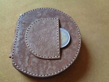 PORTAMONETE TACCO IN VERA PELLE MADE IN ITALY BY LE CUSTODIE MONEY PURSE 81TAB