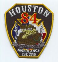Houston Fire Department Station 84 Patch Texas TX