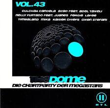 THE DOME VOL. 43 - DIE CHARTPARTY DER MEGASTARS / 2 CD-SET (UNIVERSAL 2007)