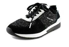 Michael Kors Allie Trainer Tweed Black & White Fashion Sneaker Size 9.5 EU 40.5