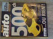 $$$ Revue Sport auto N°500 Saleen S7CorvetteNissan 350 ZPorsche 911