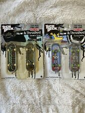 2 Tech Deck Pro Line New & Thrashed 96mm fingerboard Target Excl Song & Duffel