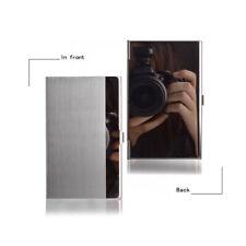 Acero Inoxidable De Bolsillo Y METAL NEGOCIOS CARD HOLDER CASE ID Crédito Cartera 92X58mm