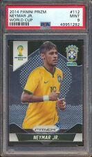 49951282 2014 Panini Prizm World Cup 112 Neymar Jr. RC Rookie PSA 9 MINT