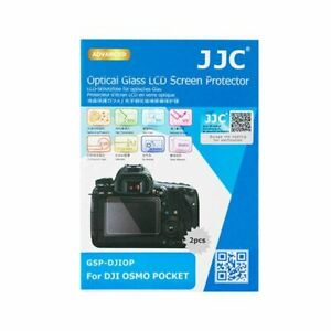 JJC GSP-DJIOP Optical Glass LCD Screen Cover Protector for DJI OSMO POCKET (2pc)
