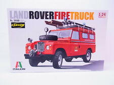 68724 Italeri 3660 Land Rover Fire Truck 1:24 Bausatz Modellauto NEU in OVP